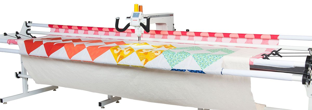 JANOME Quilt Maker Pro 18 Long Arm with 12 ft Frame