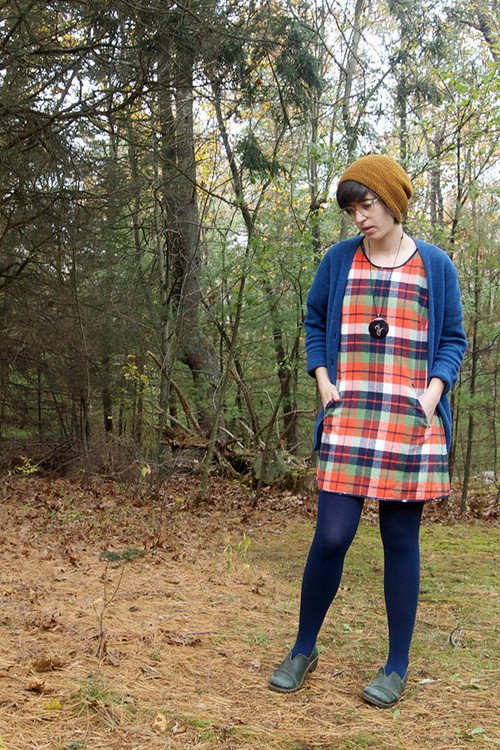 Cabin shirt and tunic dress pattern by blueprints patterns malvernweather Images