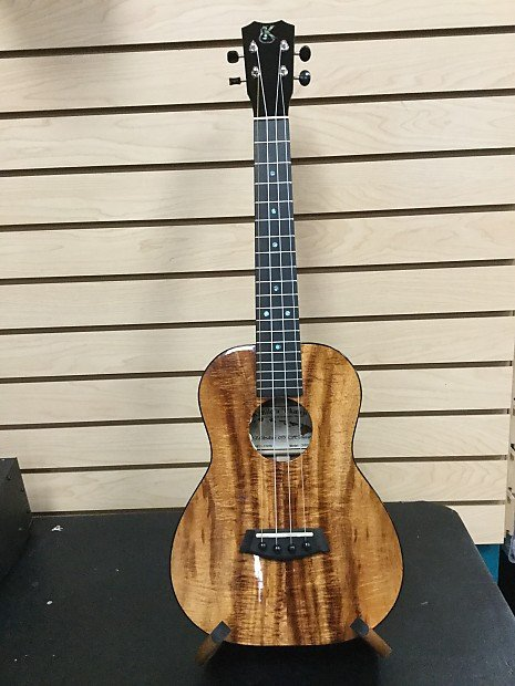 Kanile'a Custom Acoustic-Electric Tenor Ukulele w/Case