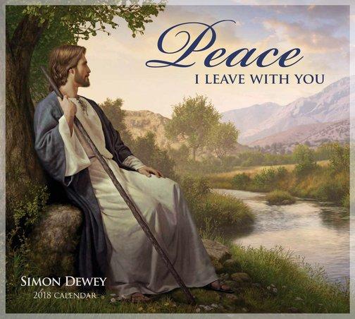 2018 Peace I Leave Unto You Calendar - Simon Dewey