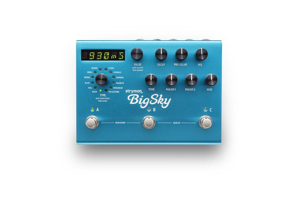 Strymon BigSky - Multidimensional Reverb