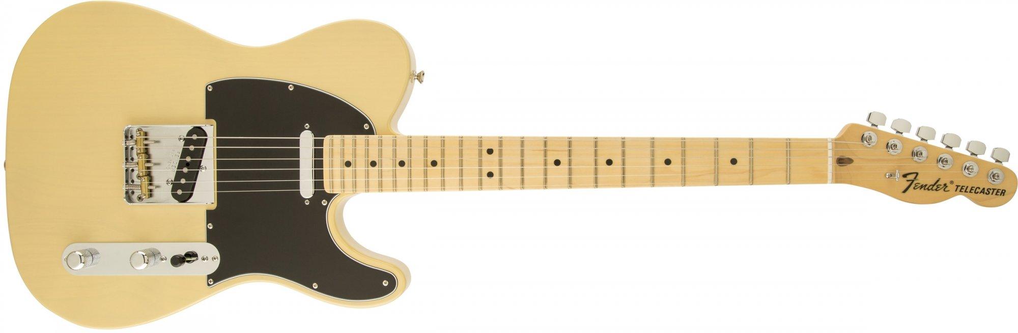 Fender American Special Telecaster Electric Guitar - Vintage Blonde