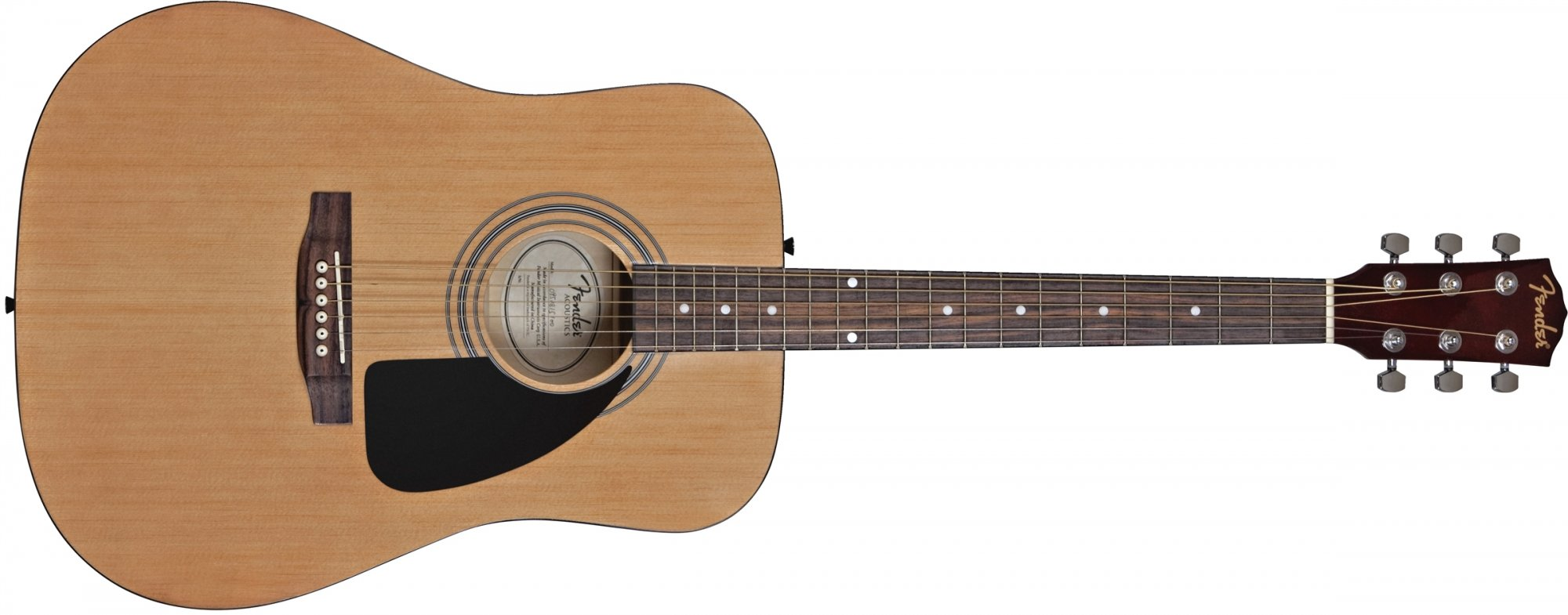 Fender FA-100 Natural Acoustic Guitar Pack