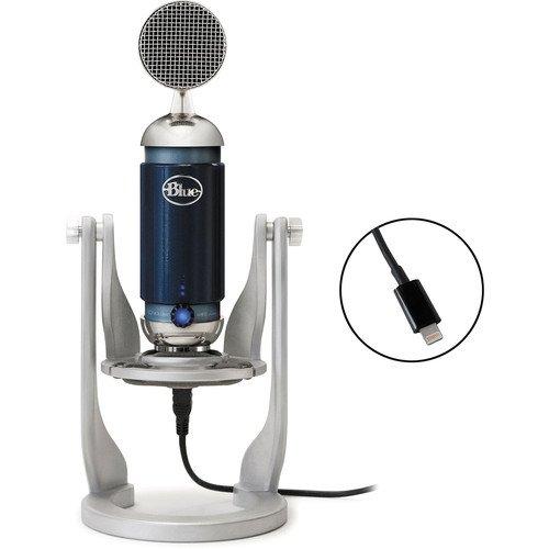 Blue Spark Digital USB Microphone with Lightning Connector