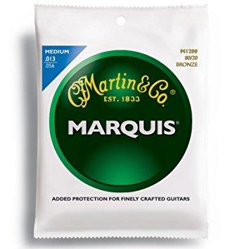 C.F. Martin Acoustic Marquis 80/20 Bronze Acoustic Guitar Strings Medium M-1200