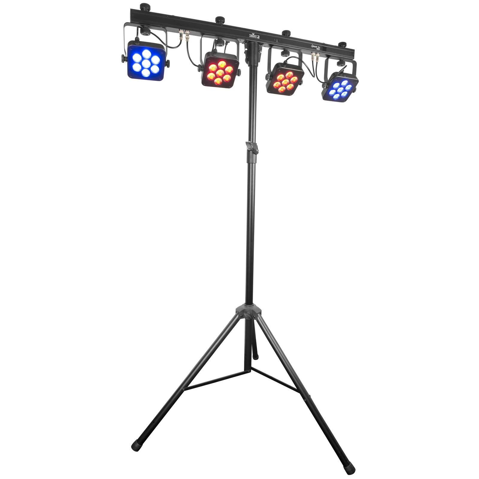 Chauvet 4BAR Tri USB Wash Lighting System