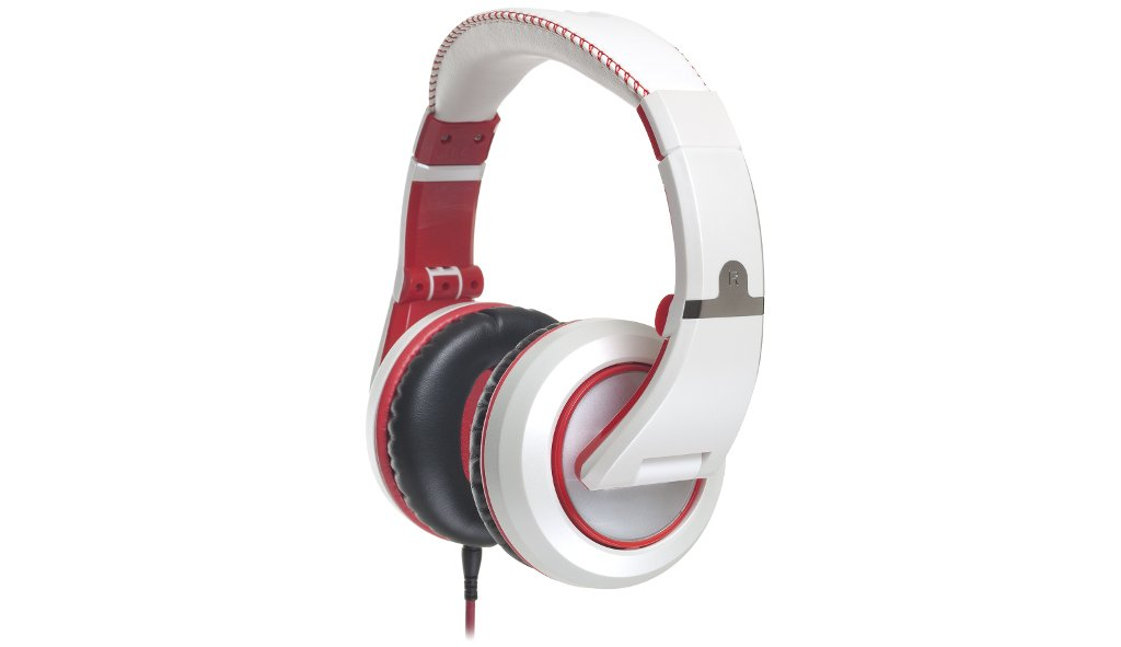 CAD Sessions MH510W Professional Studio Headphones - White/Red