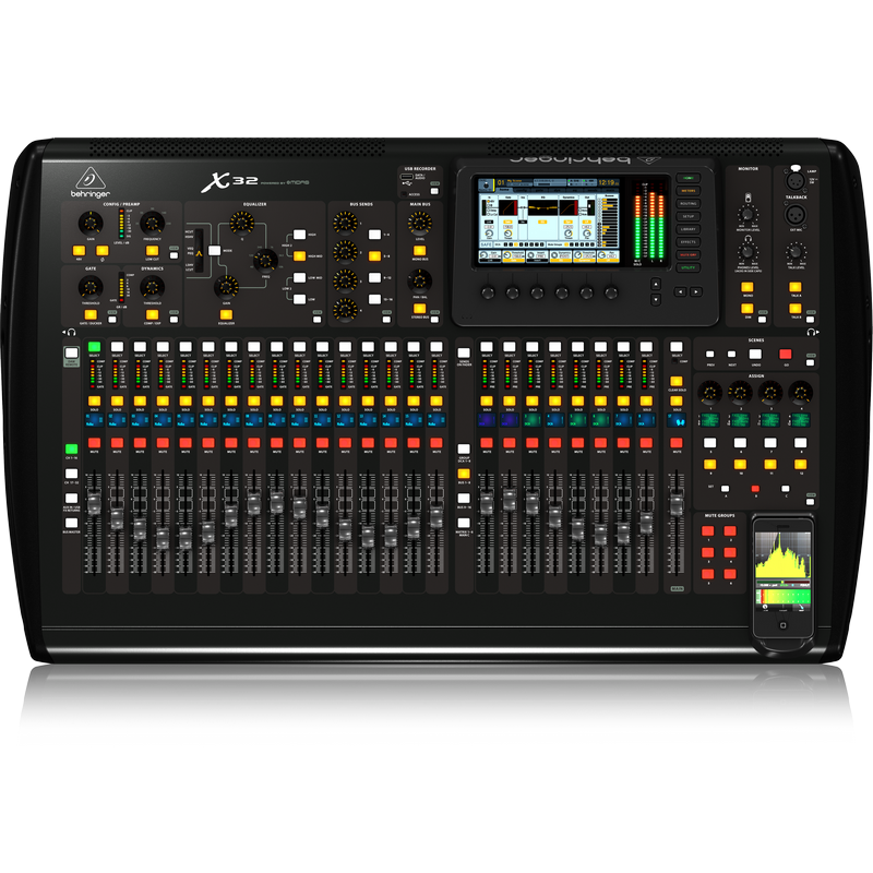 Behringer X32 40-Channel 25-Bus Digital Mixing Console