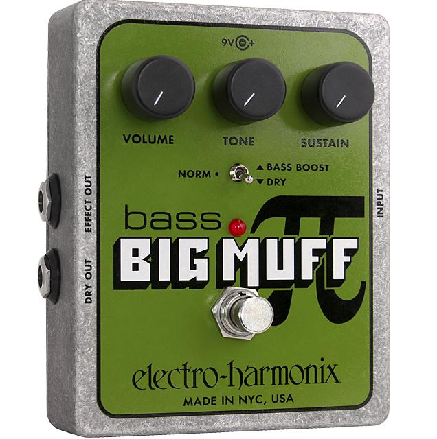 Electro-Harmonix Bass Big Muff Pi Bass Fuzz Pedal