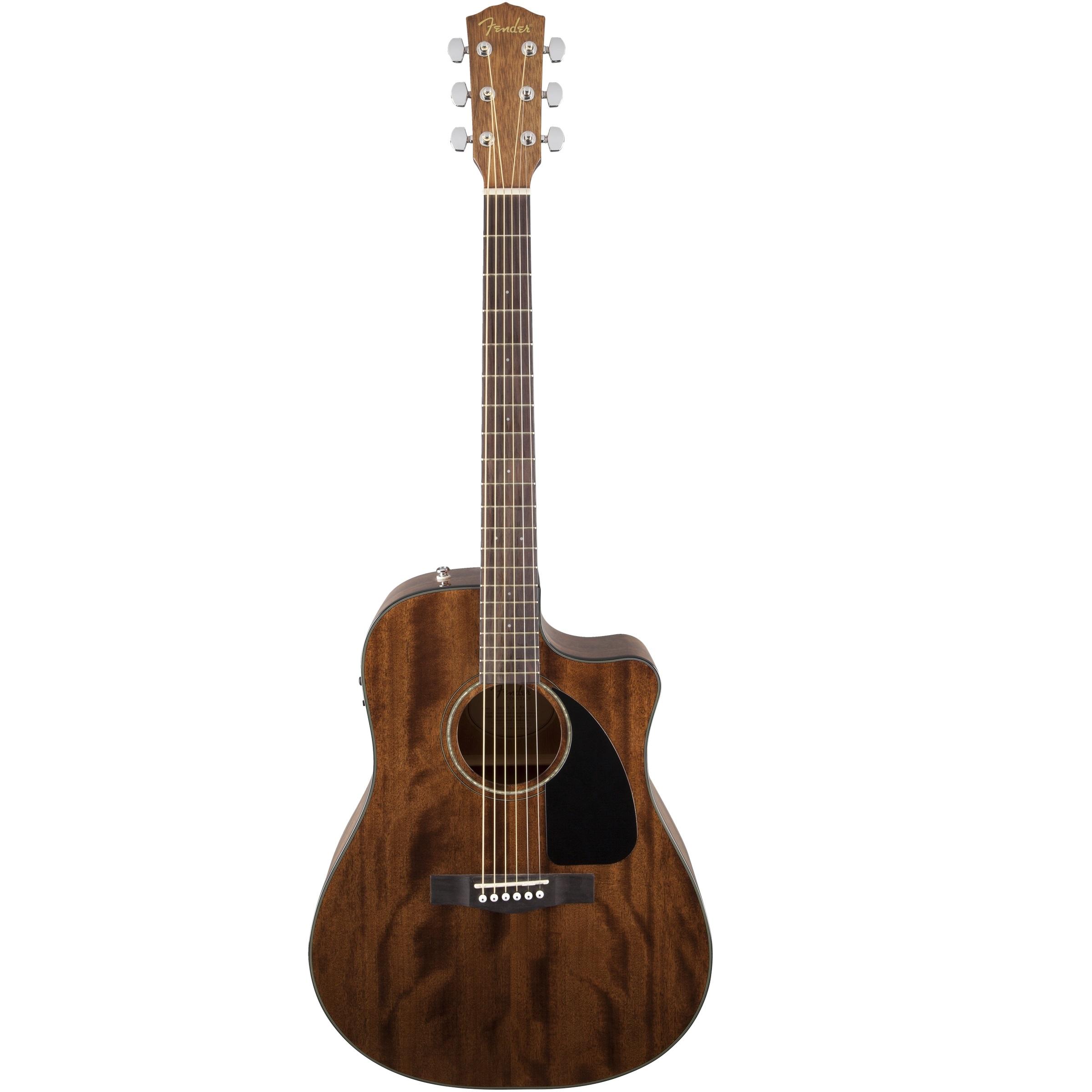 Fender CD-60CE All Mahogany Acoustic Guitar