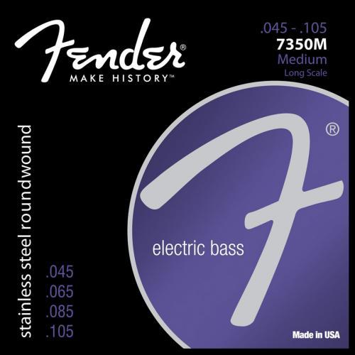 Fender 7350M Stainless Steel Long Scale Medium Bass Strings