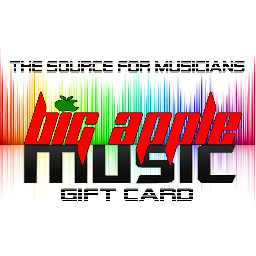 Big Apple Music $25 Gift Card