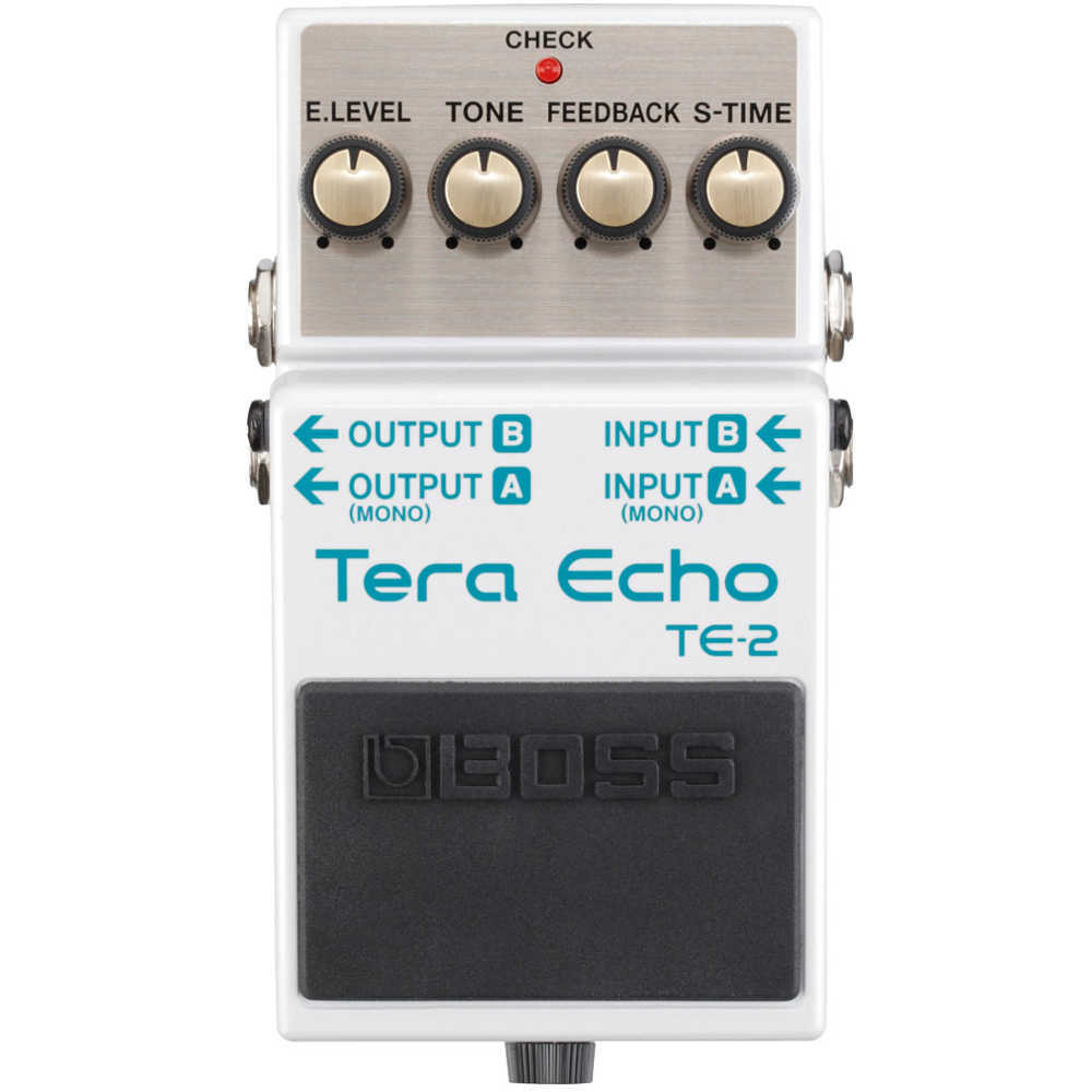 Boss TE-2 Tera Echo Guitar Effects Pedal
