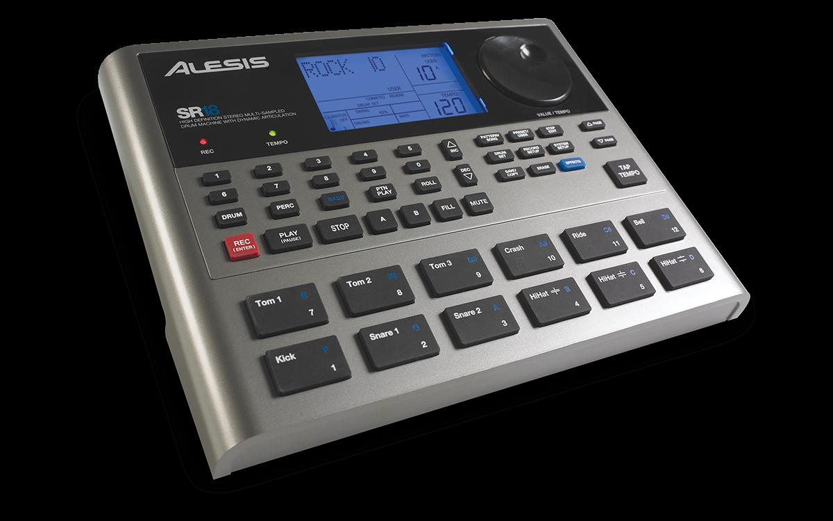 Alesis SR-18 Portable Drum Machine