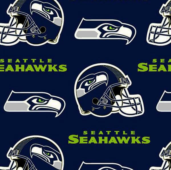 Seattle Seahawks Football Fleece Blue