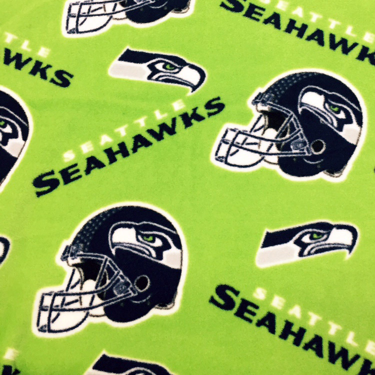 Seahawks Fleece Lime