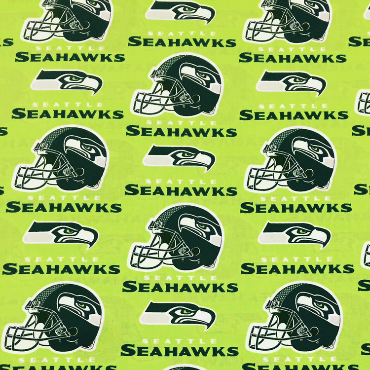Seahawks Cotton Lime