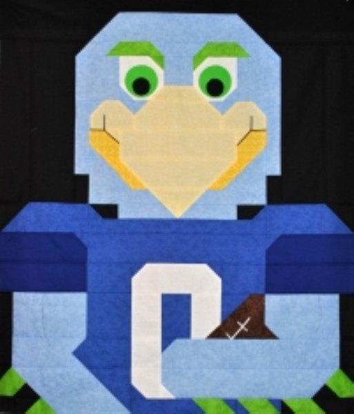 Football Bird Quilt Pattern