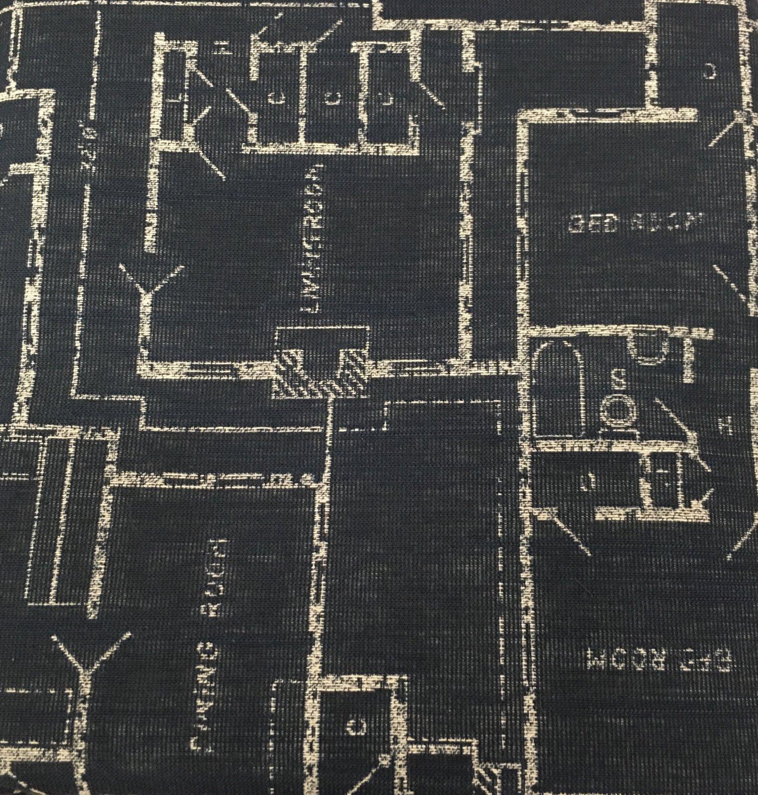 Blueprint Woven Home Dec