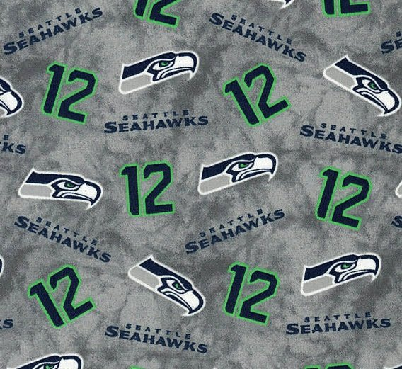 Seahawks Grey #12 - OUT OF STOCK, AVAILABLE FOR PREORDER