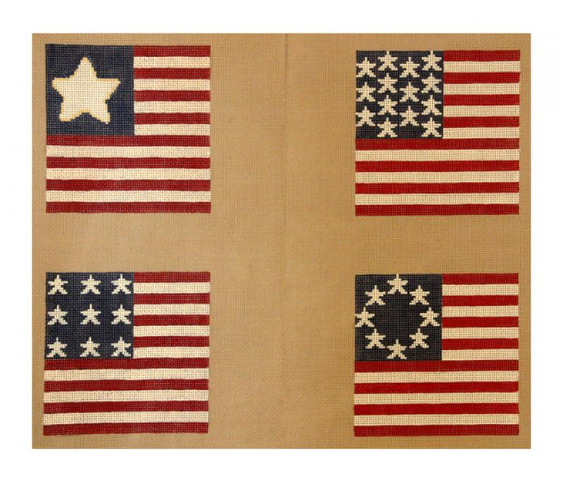 DH3635 - Stars & Stripes Coasters