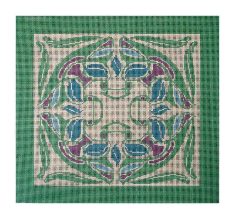 DH3647 - Art Nouveau Wreath
