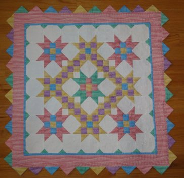 Baby Quilt made and Quilted by Terry