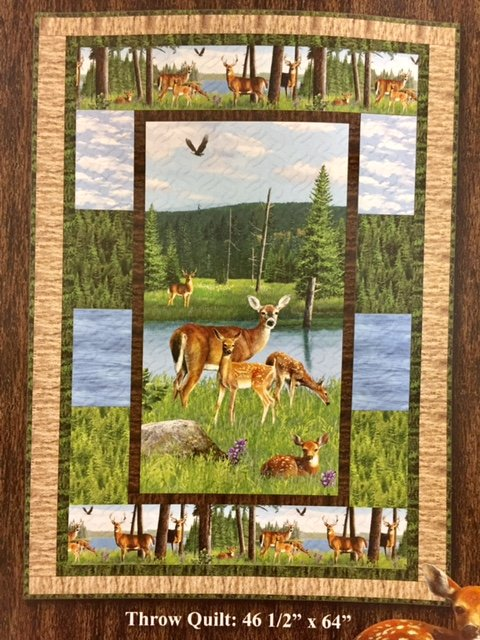 Oh Deer Fabric Kit with Pattern