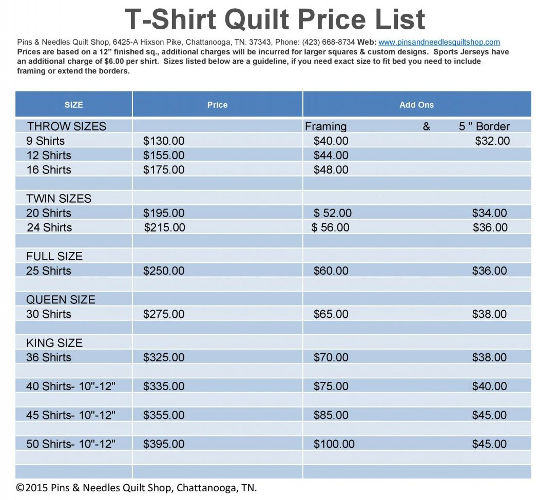 Tshirt Quilts Memory Amp Custom Quilts