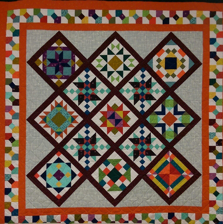 Intermediate Quilting Patterns : Intermediate Quilt Sampler
