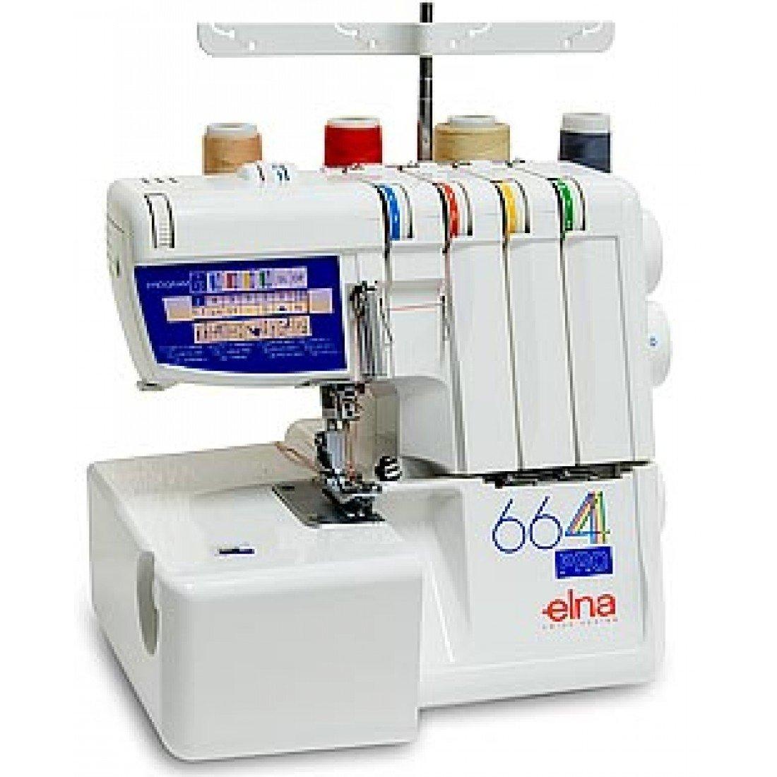 elna serger sewing machine