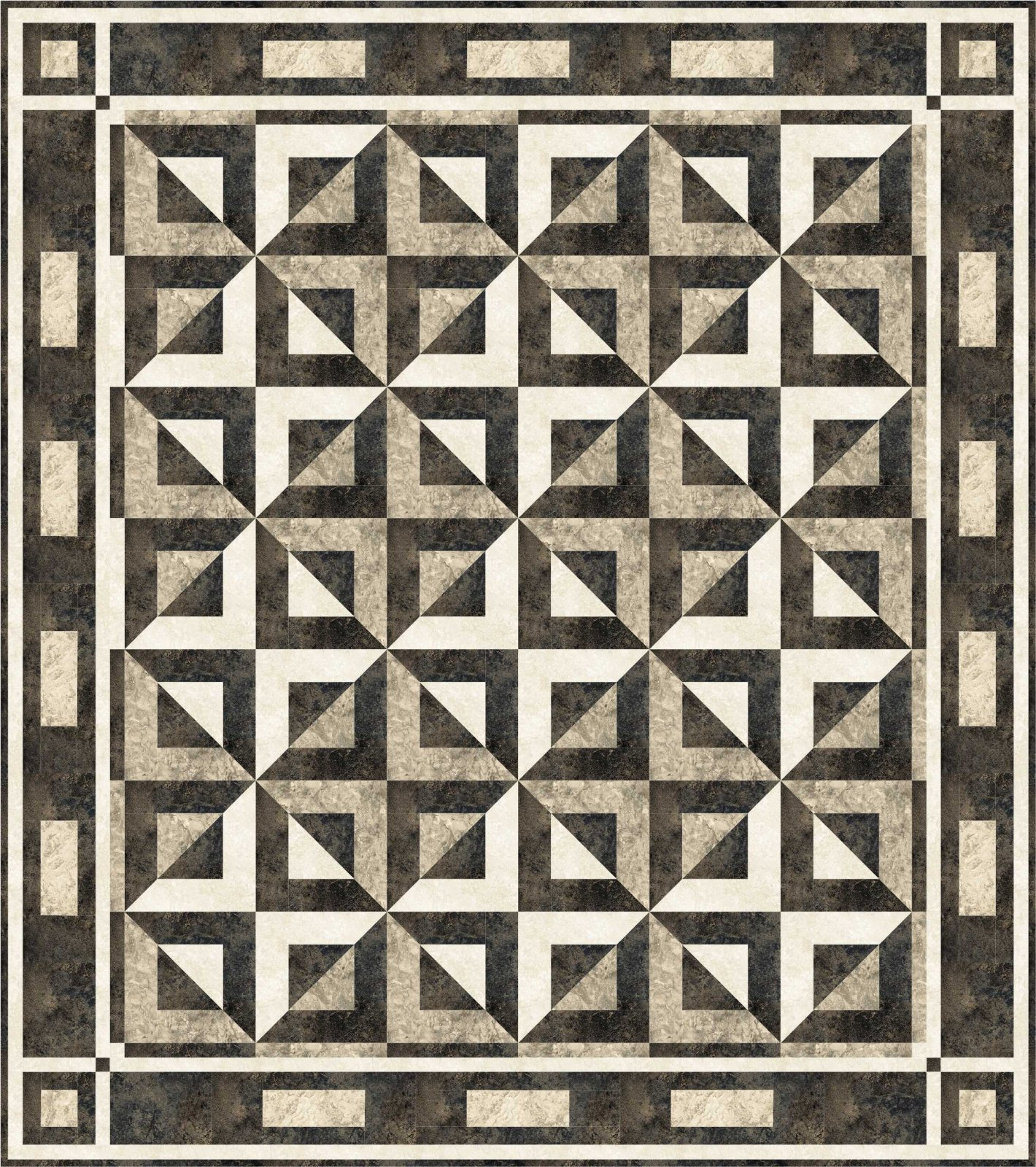 Pieced quilt patterns for Black white and gray quilt patterns