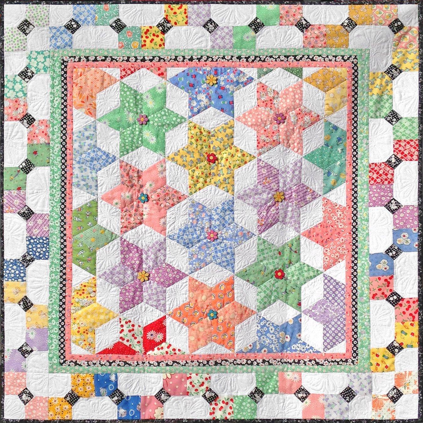 Diamond Star Fabric Kit 30 S Reproductions