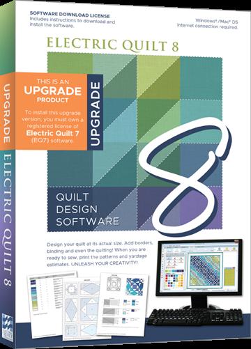 EQ8 Quilt Design Software - Upgrade from EQ7