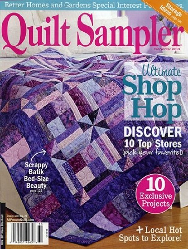 Quilt Sampler Magazine - Fall-Winter 2013