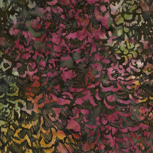 Mulberry Stars Batik BOM Quilt