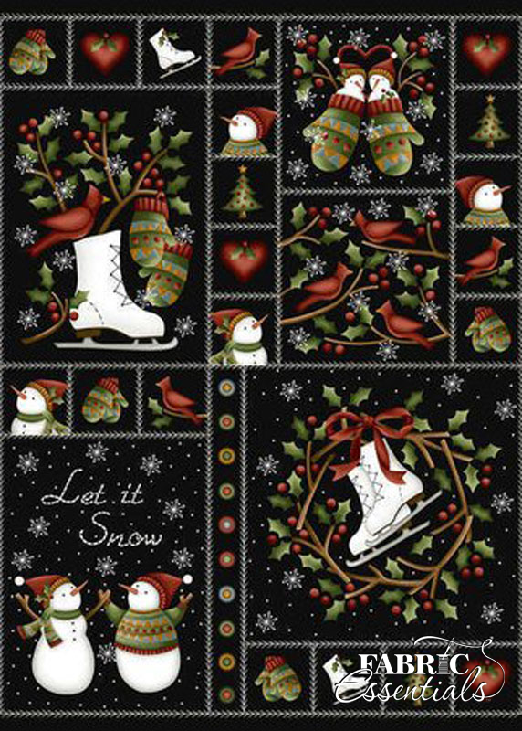 Maywood Studio Crazy For Christmas Flannel Masf18173 Z
