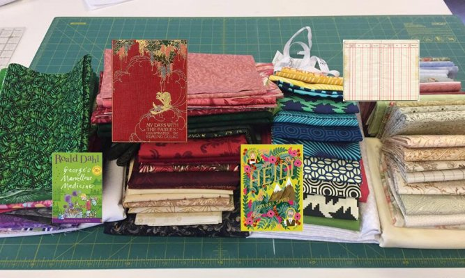 Fabric at Work Pat Sloan Mystery BOM