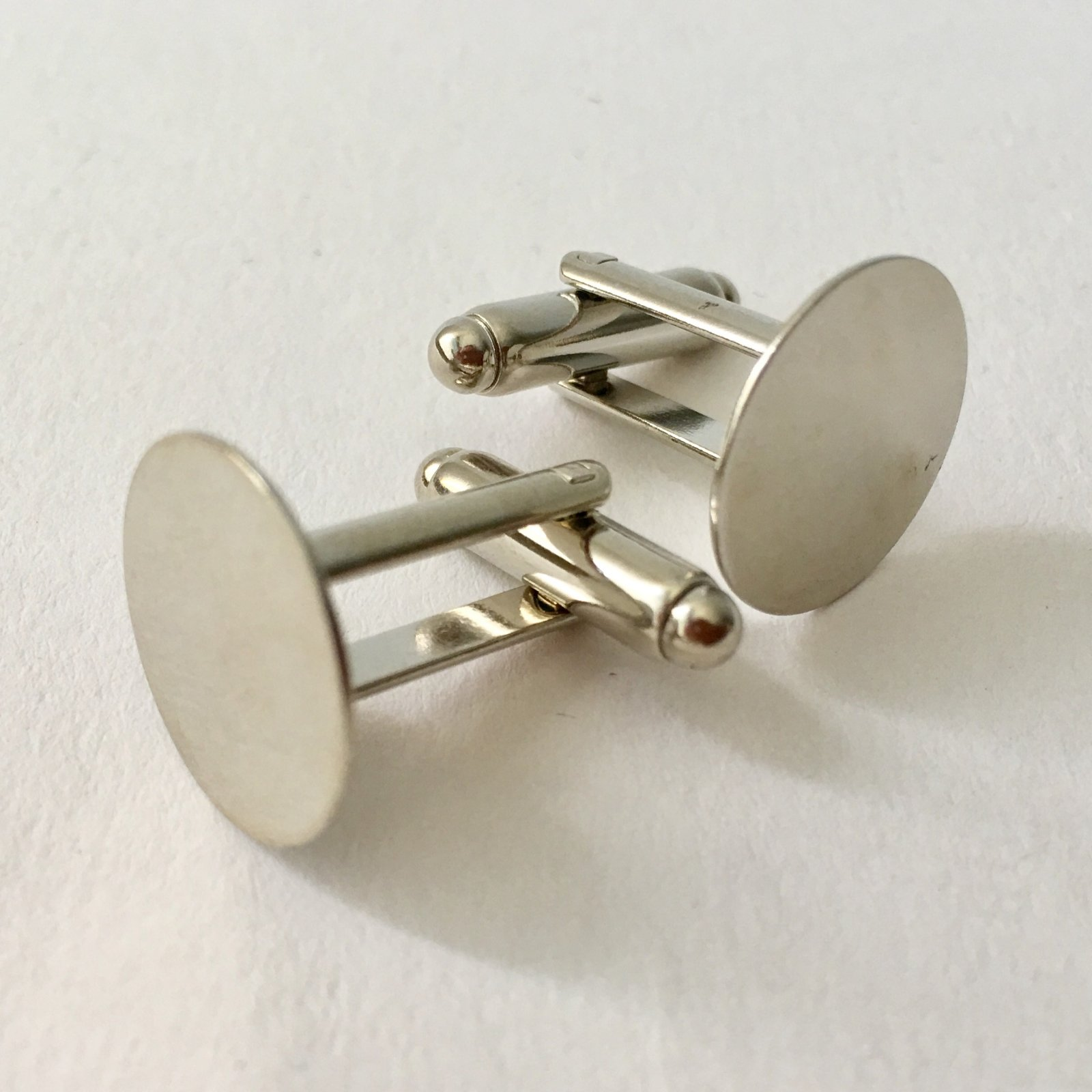 Cuff Link Blanks - 2 Pair