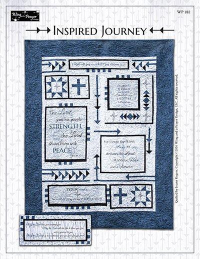 Inspired Journey Quilt Kit 54 x 69