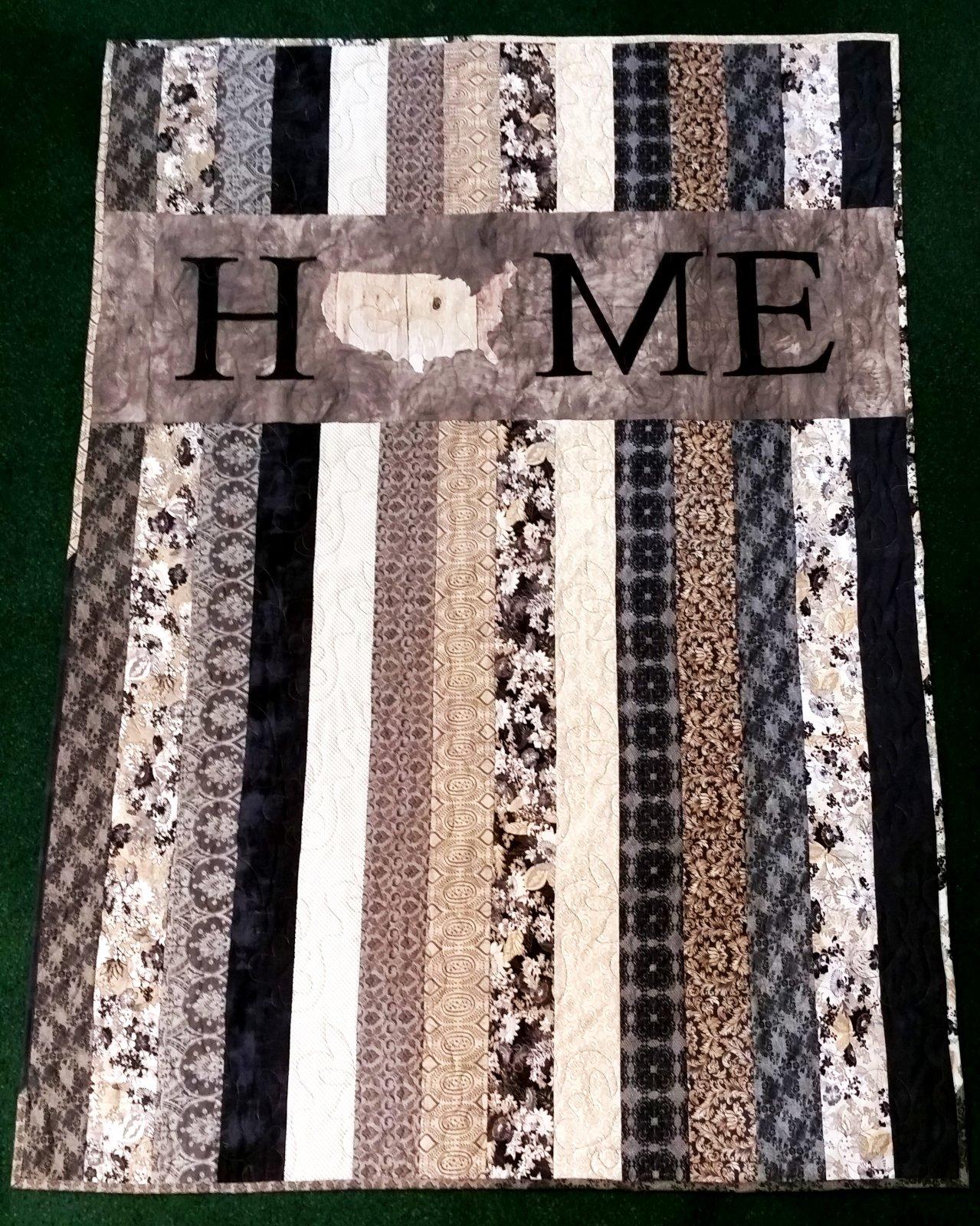 No Place Like Home-Black Tie