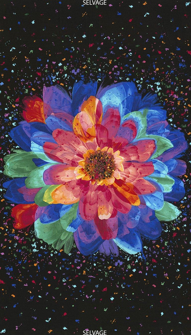 Radiance Floral Panel