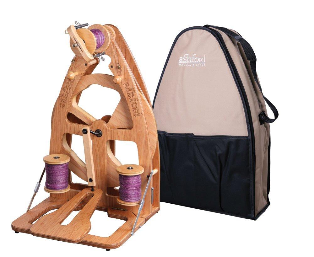 Ashford Joy Spinning Wheel with Carry Bag
