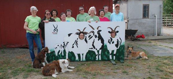Farm Club and sign