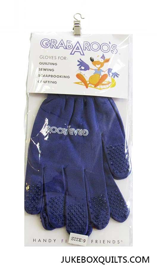 Grabaroos Quilt Gloves - Lg