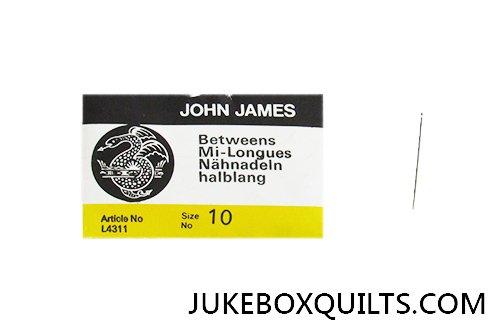 John James Between Sz 10 Needl