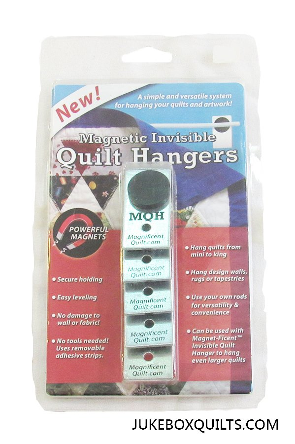 Magnetic Invisible Quilt Hanger