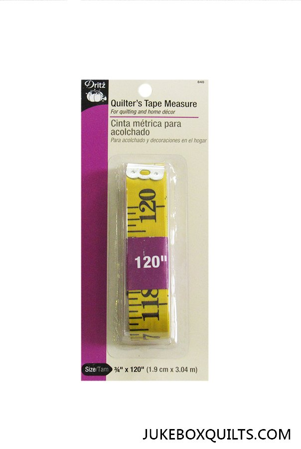 Quilters Tape Measure