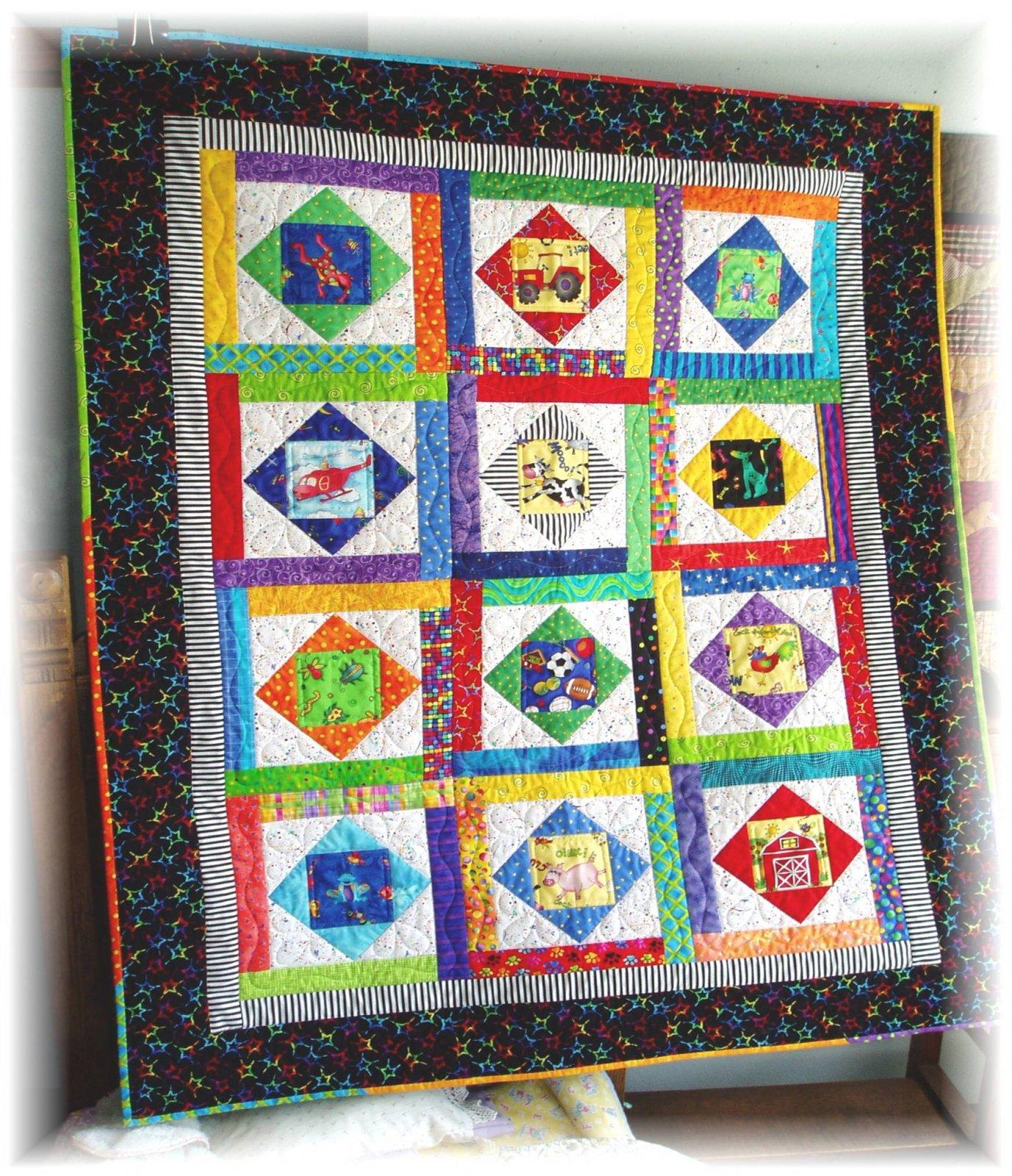 #409 Jase's Quilt Pattern  - Paper Pattern