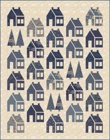 Moda Blue Barn Quilt Pattern Laundry Basket Quilts Lbq